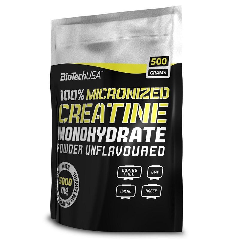 kreatin monohidrat - iskustva u fazi punjenja
